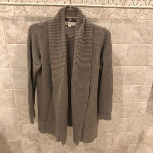 Loft Shawl Collar Cardigan Sweater